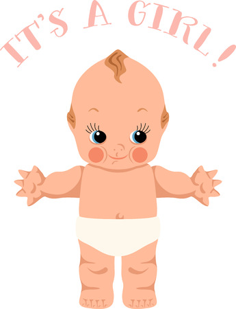 This design is great to make unique gifts for infants, newborns,  toddlers on bodysuits, layettes, diaper covers, baby t-shirts, hats, bibs  more.