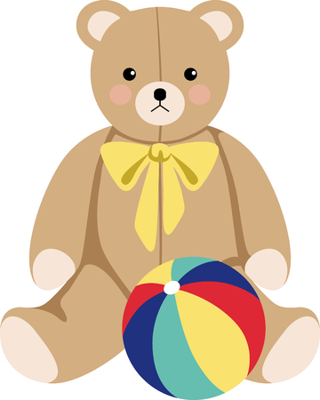 Squeeze love into your day with this huggable teddy. This design will be fabulous on bodysuits, layettes, diaper covers, baby t-shirts, hats, bibs  more.