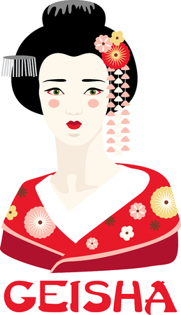 This adorable Geisha can add an oriental flavor on quilts, wall hangings, bags, garments, cushions and lots more. Çizim