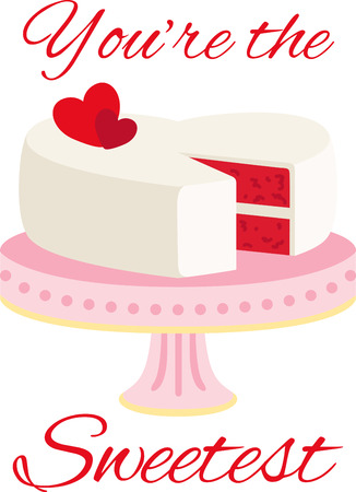 Sweeten up your Valentines Day and show some love with this design on your holiday projects.