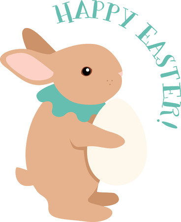 cottontail: Cute and fluffy bunny is ready for all the festivities! This design will be fabulous on all your Easter projects!