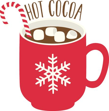 Krijg deze favoriete wintertijd nietje op uw interieur en opwarmen tafellinnen en meer met deze stomende ontwerp!