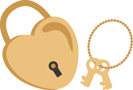 door lock love: Sweeten up your Valentines Day and show some love with this design on your holiday projects.