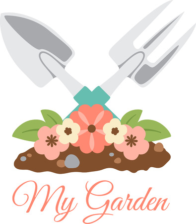 Got green thumb  Get creative with this design on gardening aprons, t-shirts and more for your gardening enthusiasts.