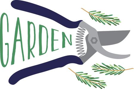 Kreeg groene duim Wees creatief met dit ontwerp op het tuinieren schorten, t-shirts en meer voor uw tuinliefhebbers.