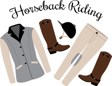 Personalize equestrian clothing with grace, beauty and power, with this design on horse riding gear including saddle pads, saddle cloths, riding jackets and riding wear.
