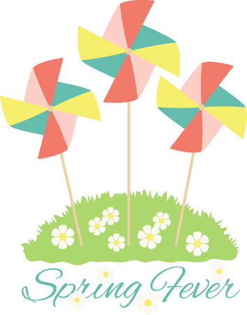 Pinwheels are great for spring garden decorating! Create a lovely splash of color to your garden, flower beds, and outdoor projects with this design.