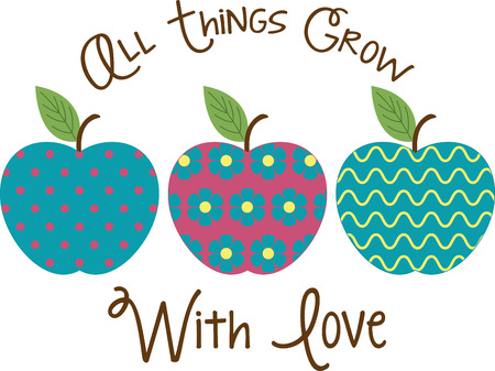 Apples are a perennial fall favorite.  Get the flavors of the season and add country charms with this design as corners and frames.