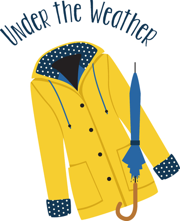rain coat: Would there be a rainbow if there was no rain  Enjoy a walk in the rain, with this design on towels, clothing, throw pillows and more. Illustration