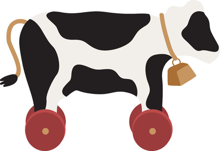 cow bells: Cow lover Be moooed by this udderly cool design on kitchen linen, throw pillows, clothing and more!
