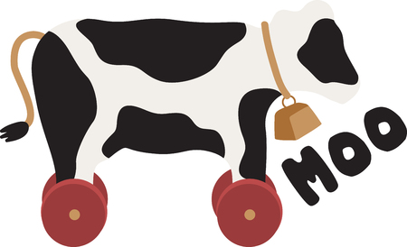 Cow lover Be moooed by this udderly cool design on kitchen linen, throw pillows, clothing and more!