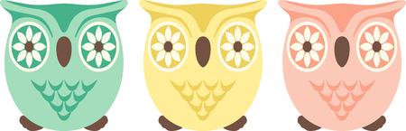 hoot: If you like everything owls, you will love this design on your indoor projects.  Keep cabin fever away by bringing this owl to life!