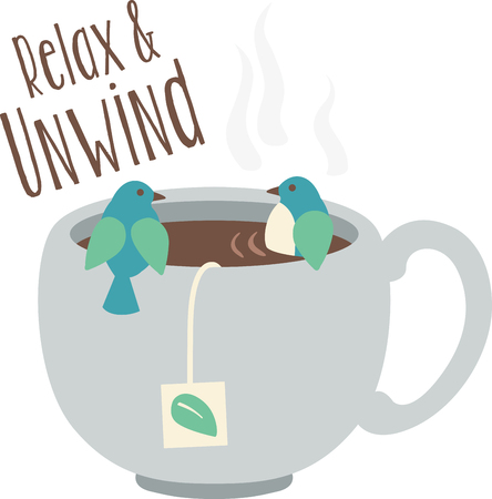 steamy: Nothing like a cup of hot tea to start your day!  This colorful design will be hot and steamy on cozies, kitchen towels and more.