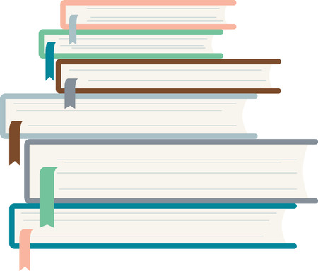periodical: Read and expand your literary horizons! Take action to encourage reading with this design on banners, t-shirts and more in libraries and schools. Illustration