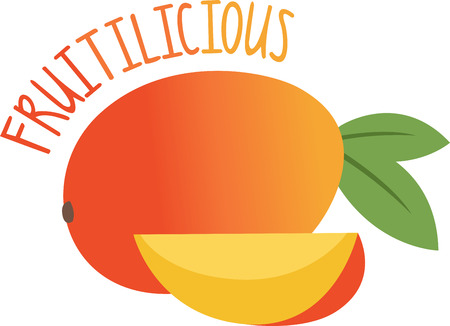 mats: Create a splendid look for the summer with ripe and juicy mangoes on place mats and linens!