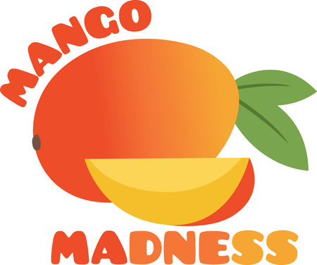 mangoes: Create a splendid look for the summer with ripe and juicy mangoes on place mats and linens!