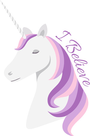 mythological character: Who doesnt love unicorns!  Add this to a little girls shirt or to a special blanket!