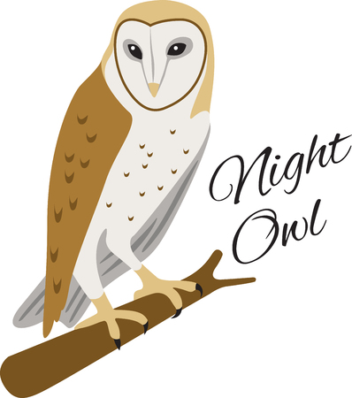 animal limb: This such a cool barn owl logo!  Use this on a childs shirt or tote bag!