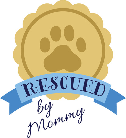 doggy: Give your award winning dog some recognition with this awesome design!  Add this to a shirt or tote bag with doggy treats! Illustration