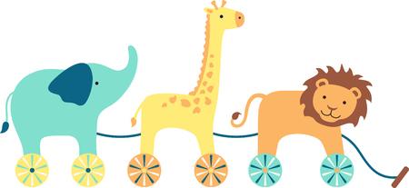 pull toy: Mirando para a�adir estilo a la habitaci�n de tu beb�? Este dise�o es perfecto en los muebles del cuarto y la decoraci�n!