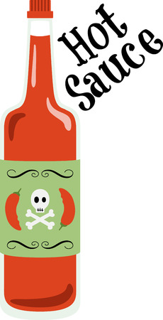 condiment: Spice up your kitchen decor and chefs apparel with this design on kitchen linen, chef coats, apron and hats. Illustration