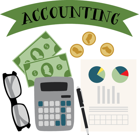 accountants: Spark your imagination. This whimsical design will be perfect on quilts, framed embroidery, throw pillows, clothing and more for your accountants.