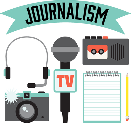 These occupational designs are terrific on towels, shirts, tote bags, aprons, and more. Journalists will appreciate a gift embroidered with this design.