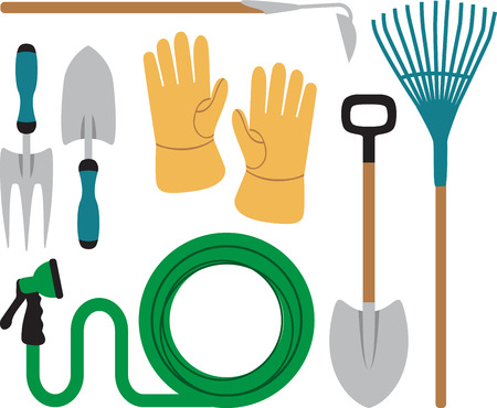 Got green thumb. Get creative with this design on gardening aprons, t-shirts and more for your gardening enthusiasts.