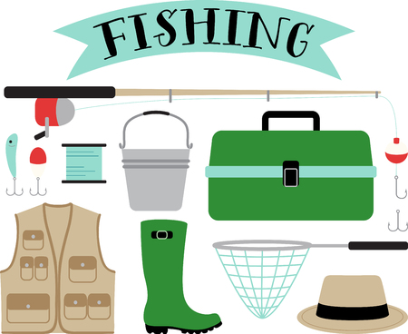 Got bite. Get hooked to this relaxing hobby with this design on gear bags, fleece pullovers, T-shirts and more for the fishing enthusiasts in your life.