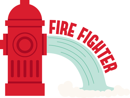 Customize gear for Fire Fighting and rescue professionals with this design on t-shirts, shirts, hats and more.