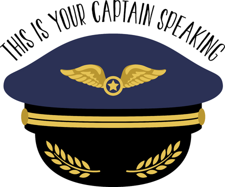 Pilots will appreciate a gift embroidered with this design.  Perfect on throw pillows, framed embroidery, clothing and more. Ilustrace