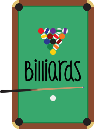 sweatshirts: Make a perfect gift every time on t-shirts, sweatshirts, hats and more for the billiard enthusiasts! Illustration