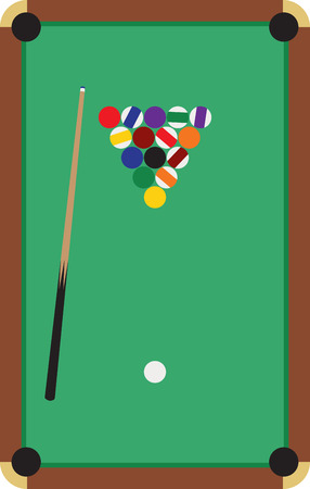 cue sports: Make a perfect gift every time on t-shirts, sweatshirts, hats and more for the billiard enthusiasts! Illustration