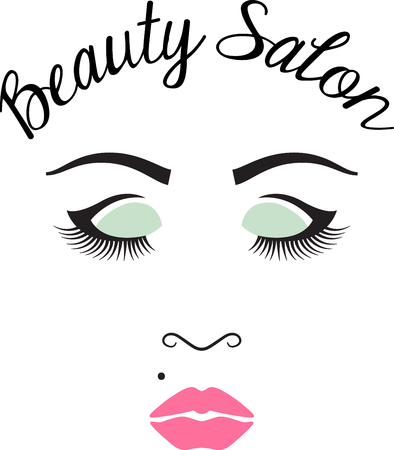 Beauty queens will love this pretty face design. This will look great on t-shirts, hoodies, jackets, tote bags and more.