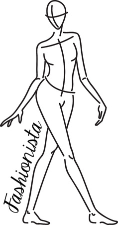 Fashionistas will love this woman sketch design. This will look great on t-shirts, banners, portfolio covers, tote bags and more.