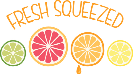 Personalize your project with this sweet Citrus Fruit design. This will look great on aprons, placemats, napkins, tote bags and more.