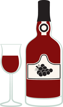 Personalize your project with this Port Dessert Wine design. This will look great on t-shirts, placemats, aprons, tote bags and more.