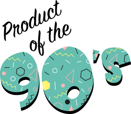 flashback: Kids of the 90s will love this awesome flashback design. This will look great on t-shirts, hoodies, jackets, banners, tote bags and more.