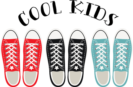 nineties: Step back in time with this awesome Cool Kids Shoes design. This will look great on t-shirts, hoodies, jackets, tote bags and more.