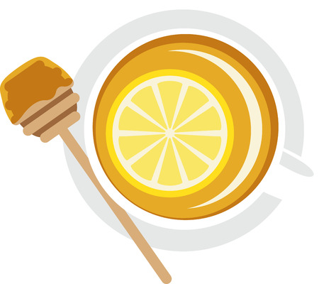 Get ready for tea time with this sweet honey lemon design. This will look great on placemats, aprons, napkins, tote bags and more.