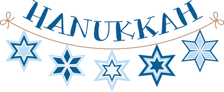 This design is beautiful and bright and fills you to the brim with holiday spirit and is perfect on gifts, table runners, kitchen linens, home decor and on all things Hanukkah!