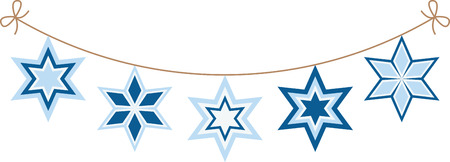 chanukah: This design is beautiful and bright and fills you to the brim with holiday spirit and is perfect on gifts, table runners, kitchen linens, home decor and on all things Hanukkah!