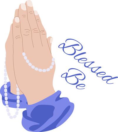 Showcase van de beloften van God en de verklaringen van het geloof op religieuze thema projecten, zoals de Bijbel covers, bookmarks, ingelijst borduurwerk en meer Stockfoto - 63397166