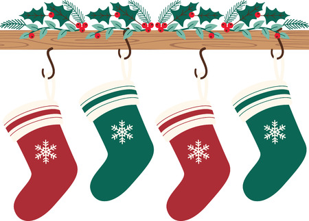 Christmas stockings last forever, making their presence felt every Christmas, after the gifts that it contained are long gone! Feel the spirit of the season with this design on your holiday projects!