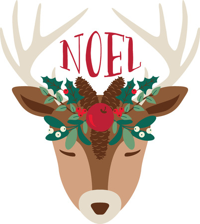 Add a dash of Christmas charm, and a sprinkle of holiday cheer, to your holiday decorating and gift giving with this design on sweaters, sweatshirts and more!