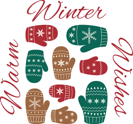 muff: Deck the halls and the rest of your home in Christmas cheer with this design on your holiday projects.