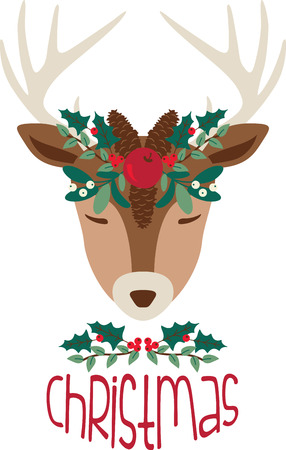 gift giving: Add a dash of Christmas charm, and a sprinkle of holiday cheer, to your holiday decorating and gift giving with this design on sweaters, sweatshirts and more!