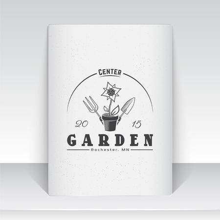 Ein Bauernhof Wachsenden Blumen. Gartengeräte-Shop. Garden Center ...