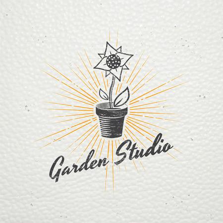 gardening tools shop garden center set old retro vintage