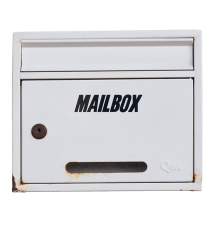white mailbox dicut photo